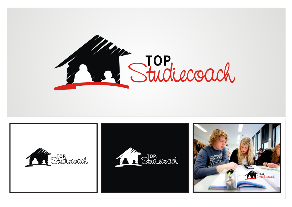 We want a new fresh logo for TOP Studiecoach