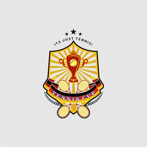 Logo/Pokal für Tennis Cup
