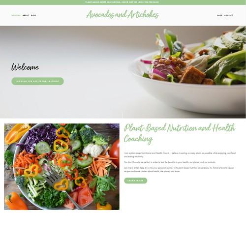 Website - Food Blogger