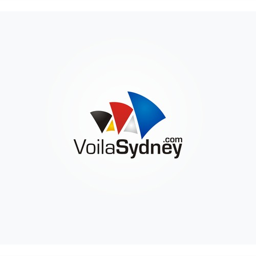 Create a logo for a newswebsite targeting the french community living in Sydney