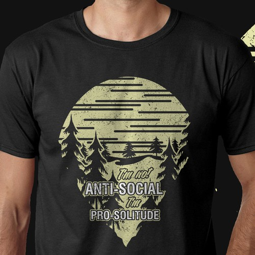 Cool edgy tshirt for It's A Wanderful Life.