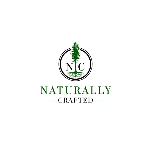 Create a natural, high-end, sustainable construction company logo