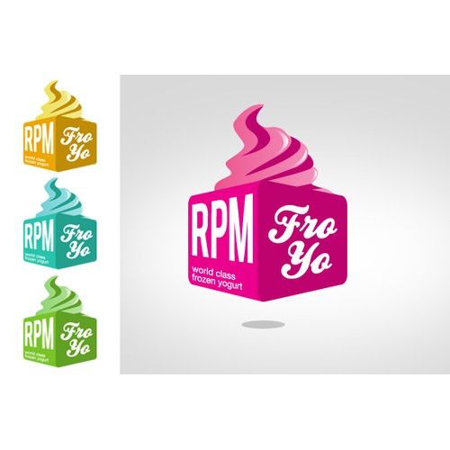 Create the next logo for RPM Fro-Yo