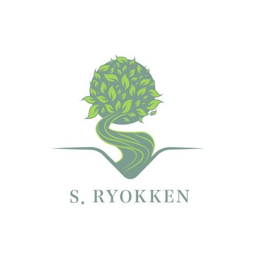Japanese landscaper logo design