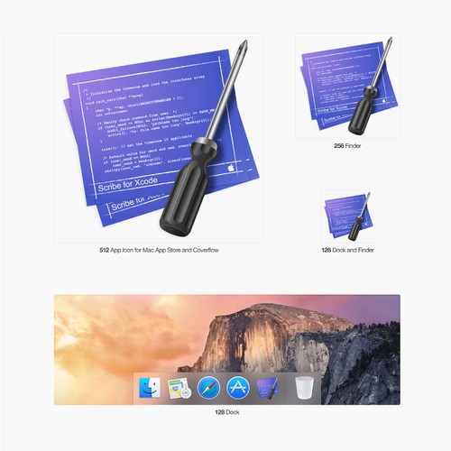 OSX icon for Scribe