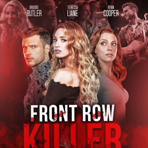 Revised Poster for Front Row Killer Film Poster