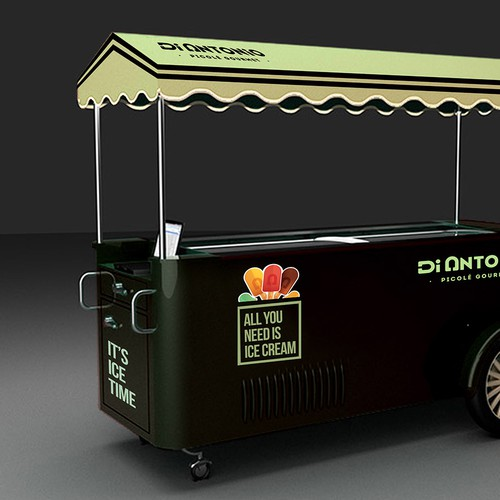customize ice cream cars for Di Antonio Gourmet