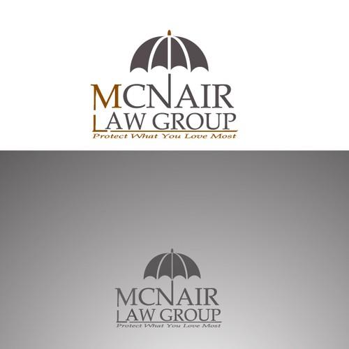 Modern Law Firm Seeking Captivating Umbrella Logo