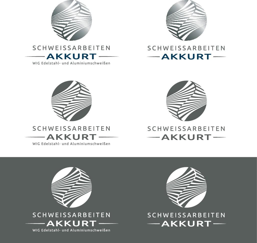 Schweißarbeiten Akkurt braucht ein neues professionelles Logo