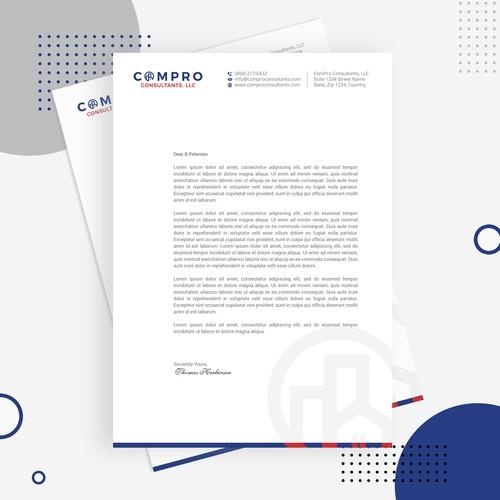 Professional Letterhead for ComPRO Consultant, LLC