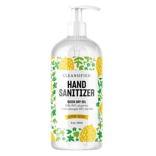Han Sanitizer Packaging