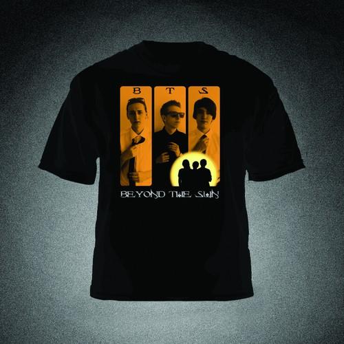 Pop/Rock Band T-Shirt Design Contest