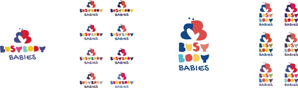Busy Body Baby Logo Design You Made for Us