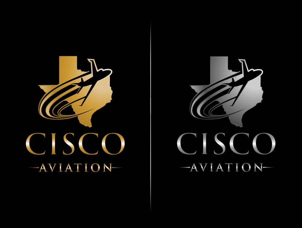 Guaranteed Payment For Your Winning Luxury Logo For Cisco Aviation in Texas