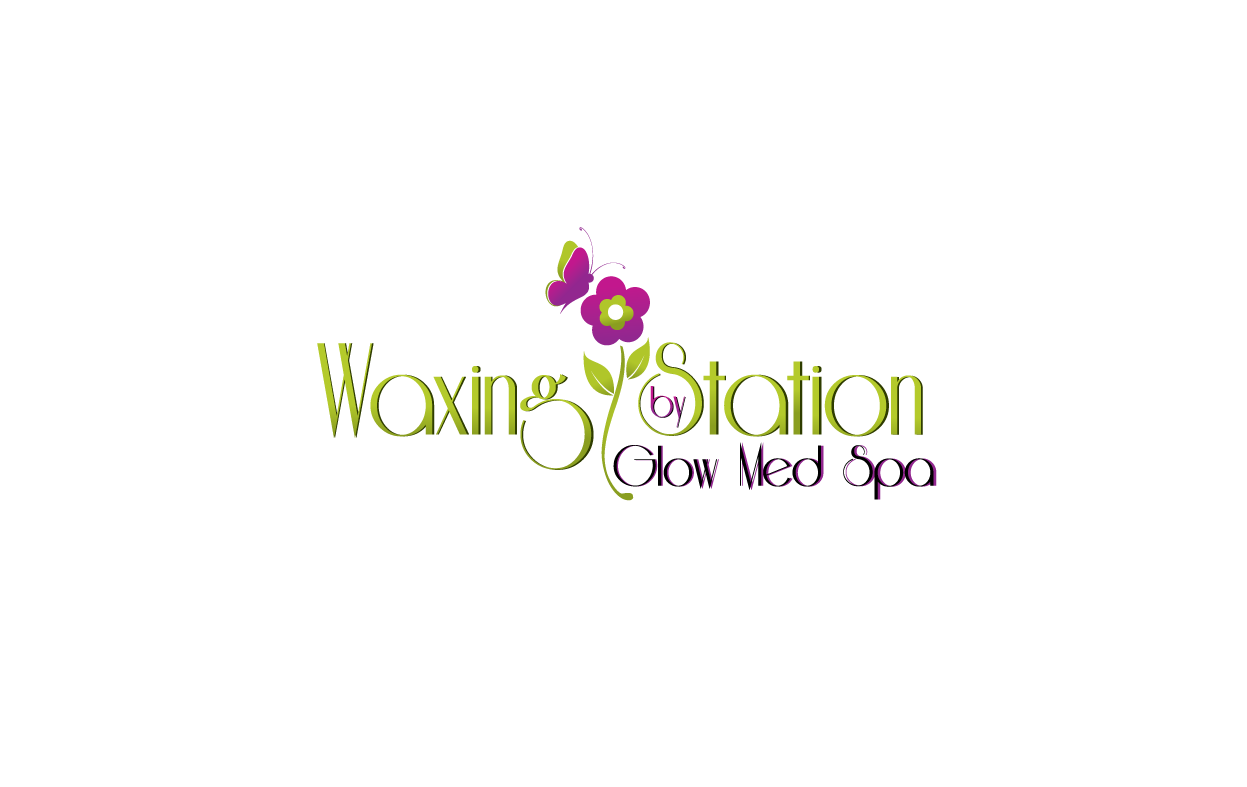 Help Glow Med Spa Waxing Station  or   Waxing Station by Glow Med Spa with a new logo