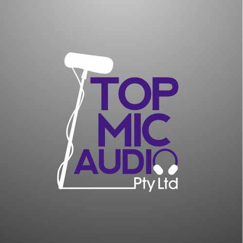 Help Top Mic Audio Pty Ltd with a new logo and business card
