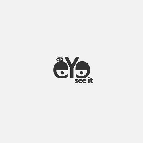 as eye see it logo design