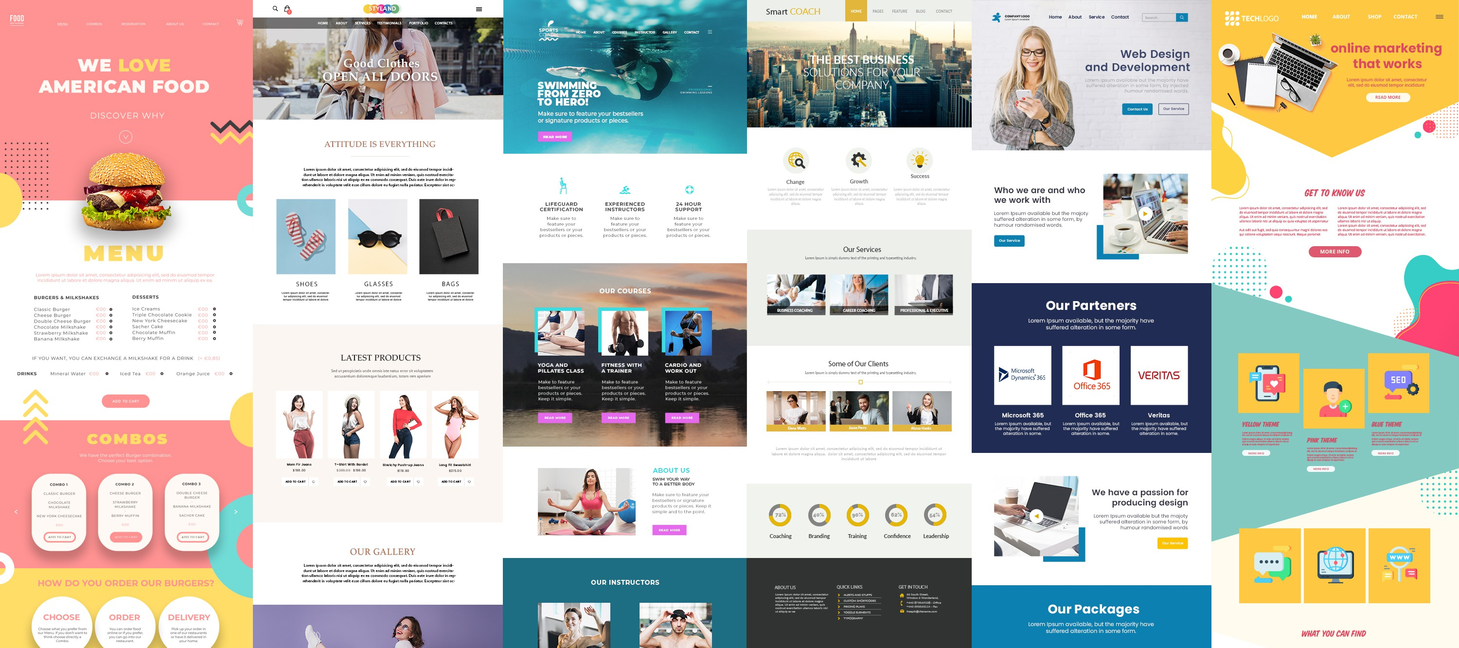 We need a stand-out creative homepage banner