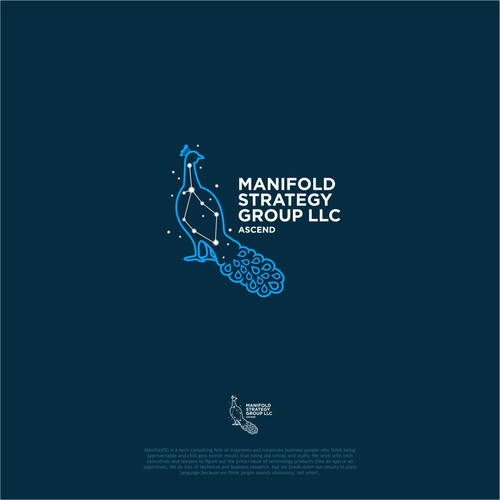 Bold Logo Concept for Manifold Strategy Group Logo