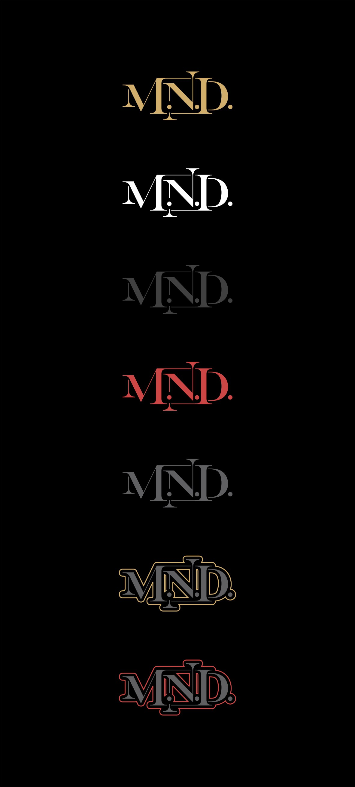 Rap artist M.N.D. logo