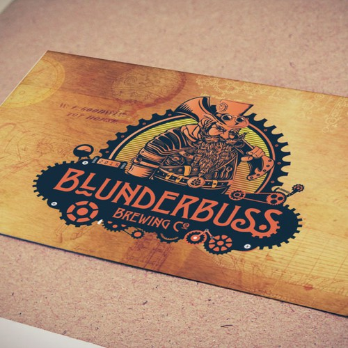 Blunderbuss brewing company.