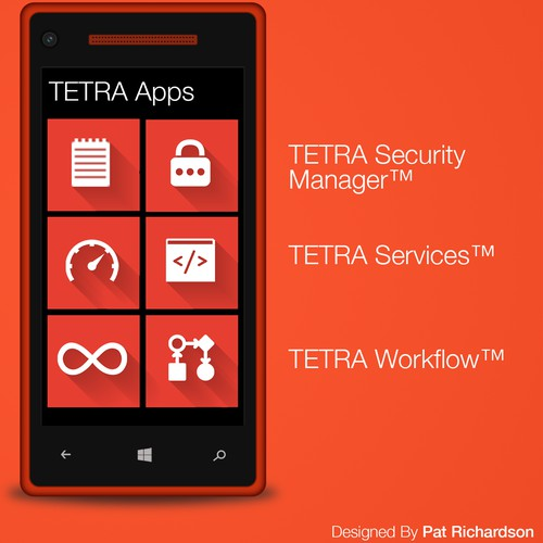 App Icons for TETRA