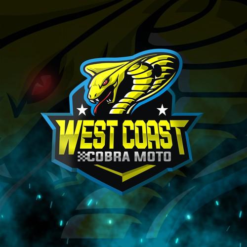 Logo for West Coast Cobra Moto