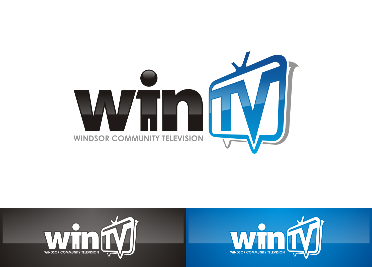 logo for WIN-TV (Windsor Community Television