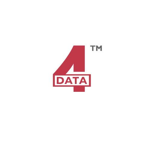 Logo Design For 4 Data