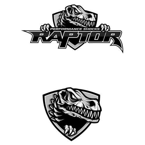 Logo for RAPTOR performance shocks.