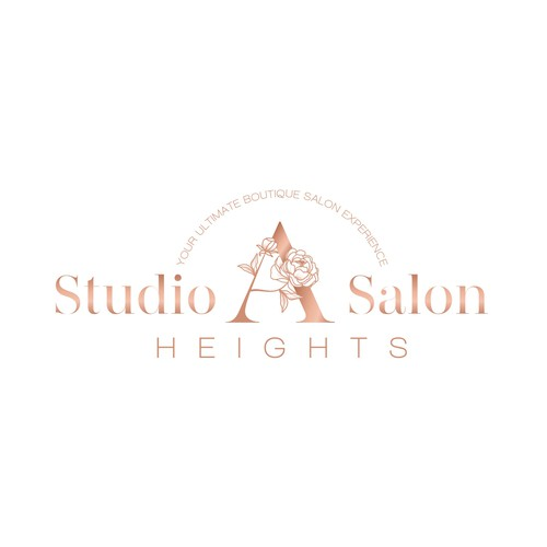 Logo concept for upscale salon