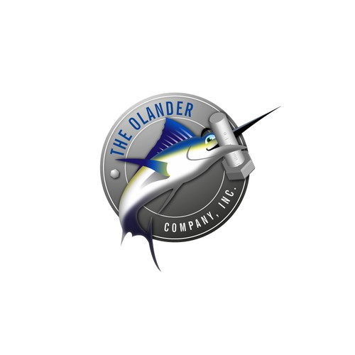Bold logo for a company