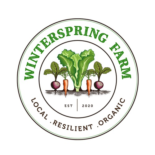 Logo for a Vegetable farm