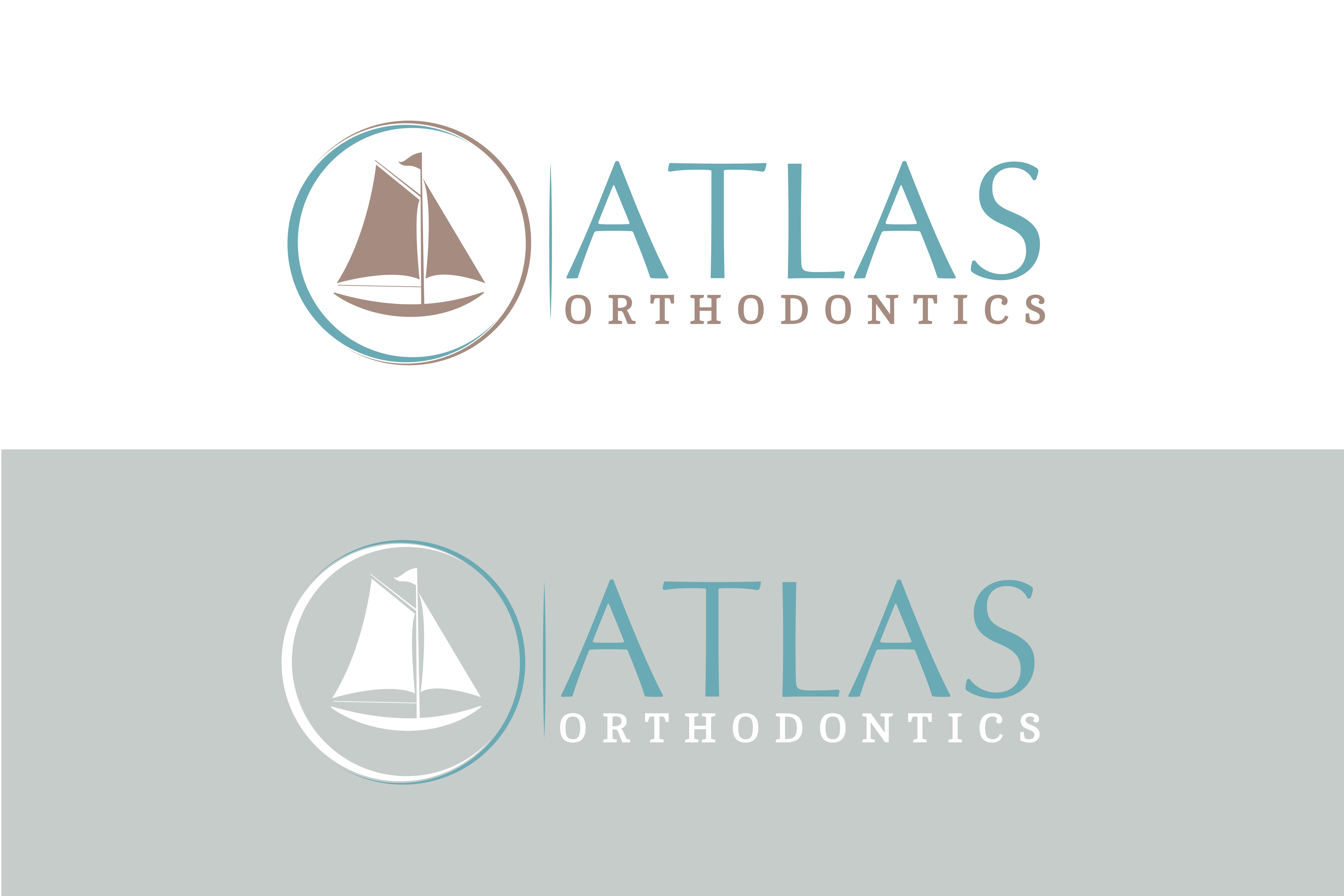 Create a simple, timeless logo for a travel themed orthodontics office