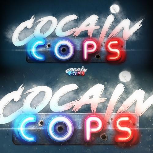 Cocain cops game logo