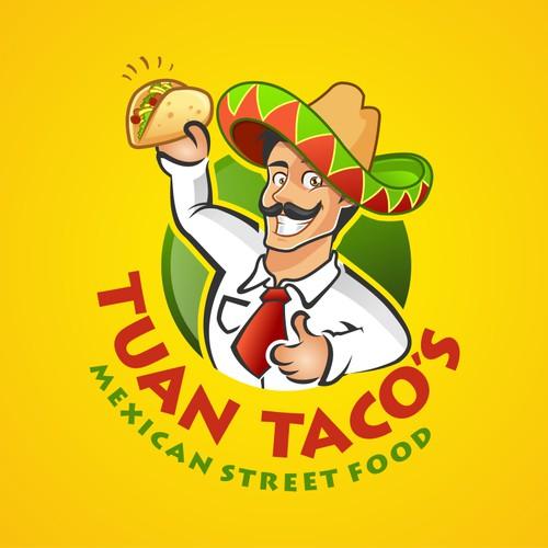 Design logo for tuan tacos,