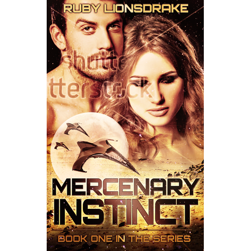 Create a Classy Cover for a Science Fiction Romance Novel