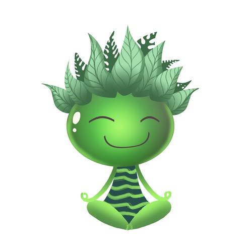 meditation character