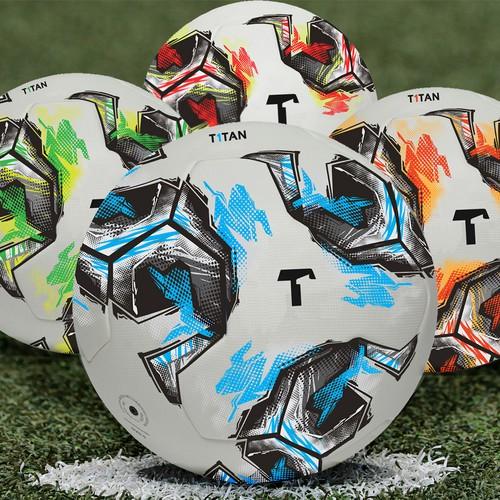 Great  soccer matchball design