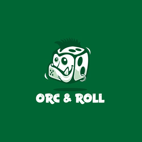 logo for Orc N' Roll a RPG Game Platform