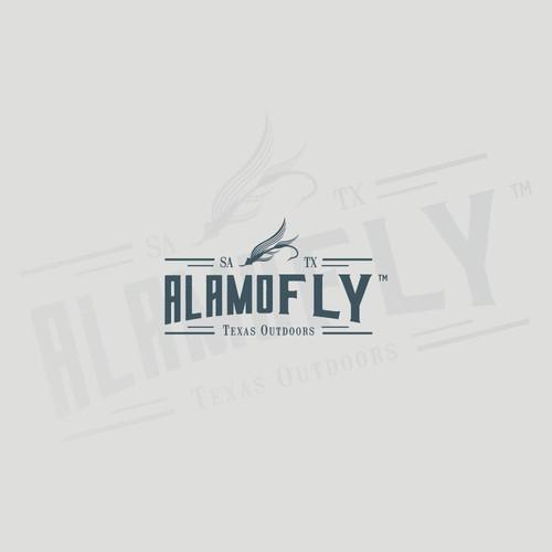 logo concept alamo fly