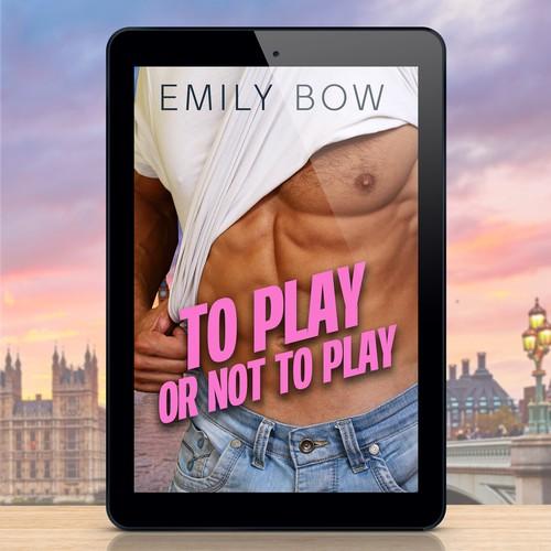 Sexy ebook cover concept for a romance