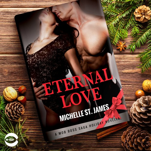 """Book cover for """"Eternal Love"""" by Michelle St. James"""