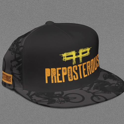 Logo and hat design for BMX racers
