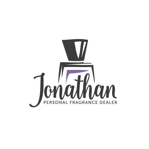 Handcrafted logo for fragrance boutique
