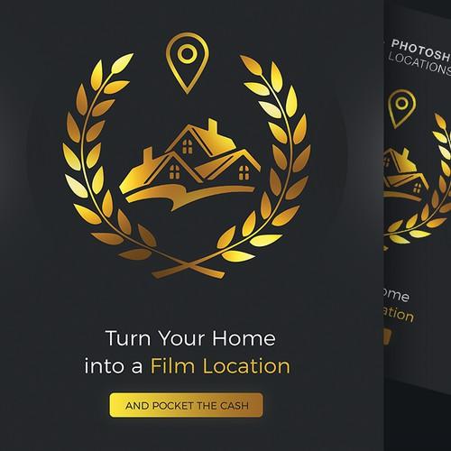 Luxury properties-locations flyer / advertising