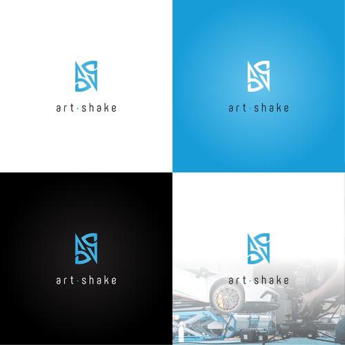 ArtShake logo design