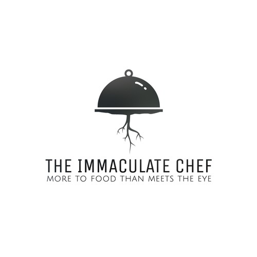 Elegant logo for 'Immaculate Chef'