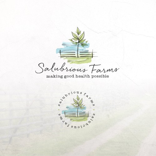 Logo Concept For Salubrious Farms