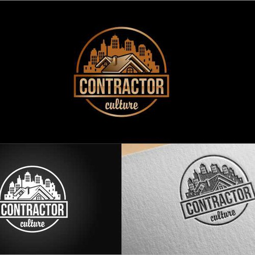 Create the Logo for a generation of eager to work skilled tradesmen at Contractor Culture.